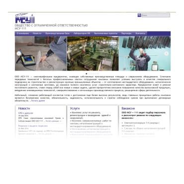 Сайт для МСУ-111